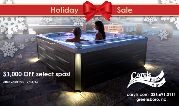 Caryls Holiday Spa Sale